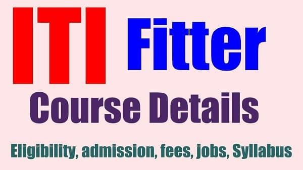 ITI Fitter Course India