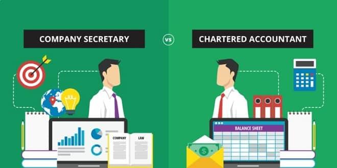 Company Secretary (CS) vs Chartered Accountant (CA)