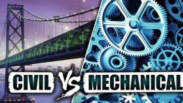 Mechanical Engineering Vs Civil Engineering