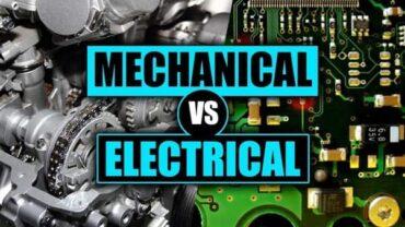 Mechanical Engineering Vs. Electrical Engineering