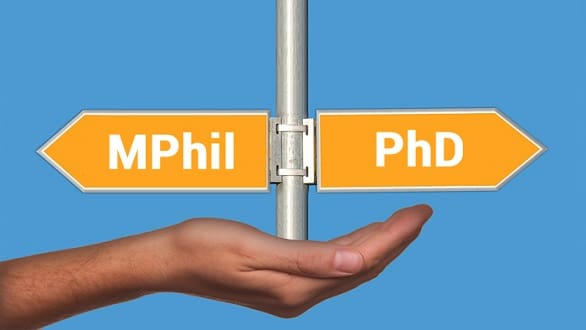 Ph.D. and M.Phil.