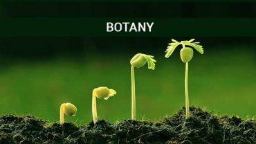 Botany Courses India