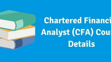 Chartered Financial Analyst (CFA) Course India