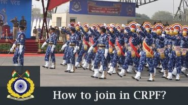 How to Join CRPF In India