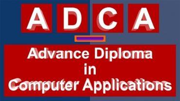 ADCA Course India