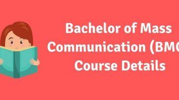 BMC (Bachelor of Mass Communication) Course