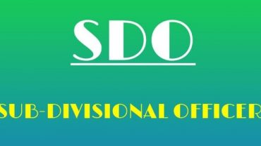 Sub Divisional officer