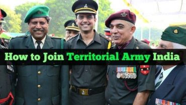 How to Join Territorial Army in India