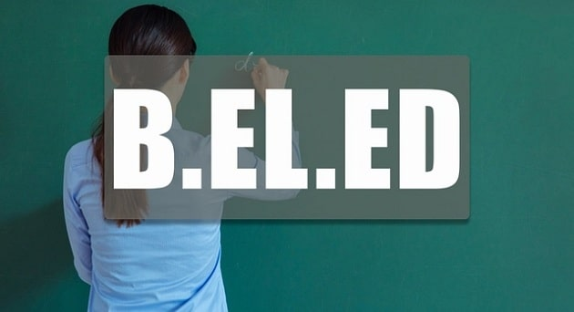 B.EL.Ed Course